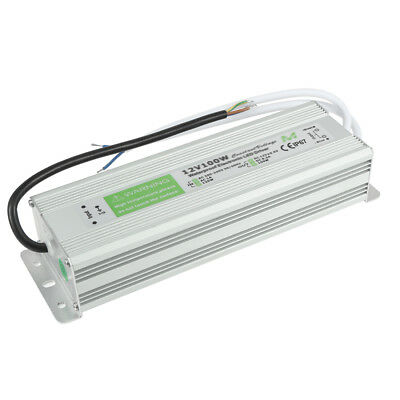 AC200-245V to DC12V 100W Transformer IP67 Waterproof LED Driver Power Supply