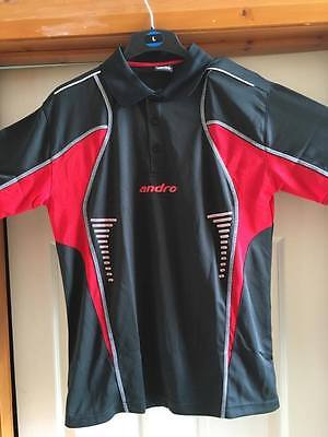 Andro Hemd Lasca Table Tennis Shirt Medium
