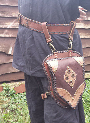 LARP Hanging Pouch and Belt Set END OF LINE. REDUCED