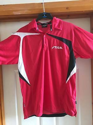 Stiga Intense Table Tennis Shirt Medium