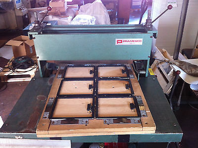 Roller Press,Diecut Forme Press Hand operated  can cut Cardboard,Leather,Plistic