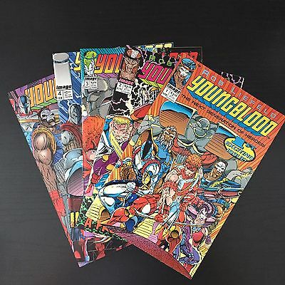 Youngblood (vol. 1) lot of 5 comics, NM condition! Rob Liefeld art • $9.99
