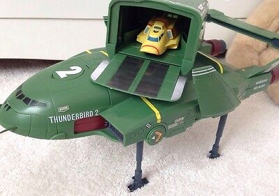 Supersize Thunderbird 2 &4 Electronic Sounds Toy By Vivid Thunderbirds