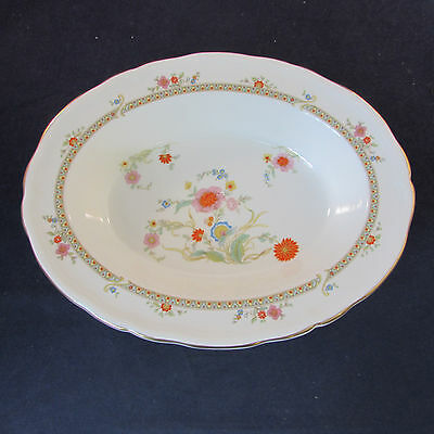 Aynsley Bone China SHANGRI-LA Oval Serving Bowl