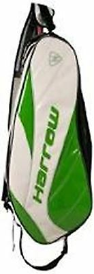 Dynasty Racquet Bag White/Kelly Green