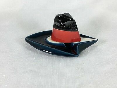 Vintage French Line SS France La Cheminee qui Fume Smoking Ashtray