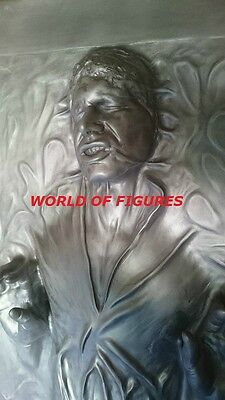 Star Wars - Han Solo In Carbonite * 1:1 Lifesize Figur / Statue / Prop / Display