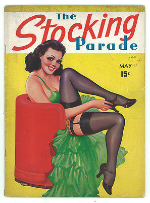 Stocking Parade Vol 1 No 10 May 1938 PULP Vintage Magazine RARE