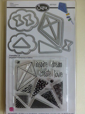 Set of Four Cutting Dies Spellbinders/Sissix/Couture Creations.