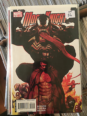 MOON KNIGHT #21 NM 1st Print VENOM App Arthur Suydam Cover
