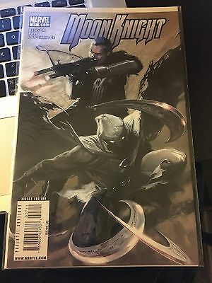 MOON KNIGHT #27 NM 1st Print GABRIELE DELL'OTTO COVER Punisher