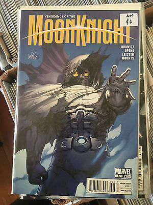 VENGEANCE OF THE MOON KNIGHT #6 NM 1st Print Jerome Opena Leinil Yu