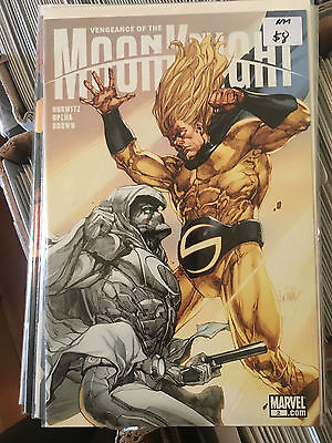 VENGEANCE OF THE MOON KNIGHT #2 NM 1st Print Jerome Opena Leinil Yu