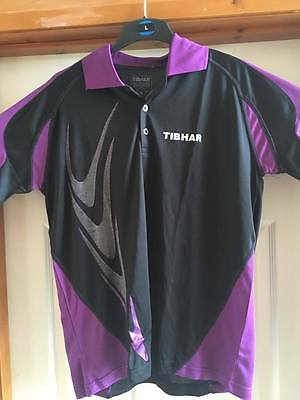 Tibhar Boomerang Table Tennis Shirt Medium