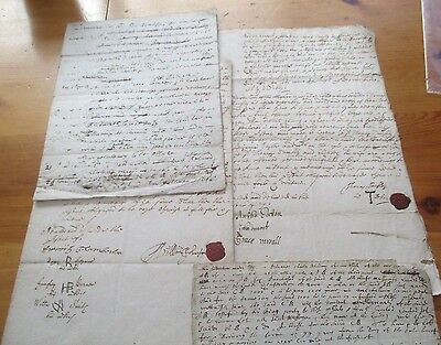 Collection Antique Documents Poss. 18Thc. All Original