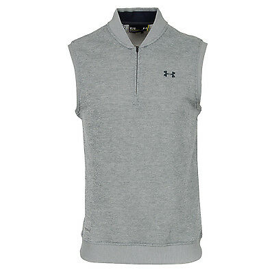 Under Armour Storm Fleece Vest in True Grey/Stealth Grey- New with Tags
