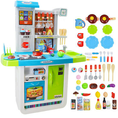 My Little Chef Kitchen Play set with Sounds, Touchscreen Panel + Accessories