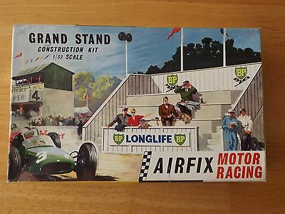 AIRFIX (SCALEXTRIC TYPE SLOT CAR KIT) 1/32nd SCALE GRAND STAND. NEW. SUPERB
