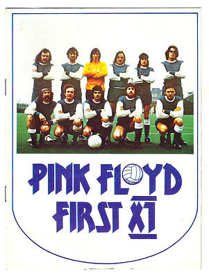 """Pink Floyd """"First XI"""" promo flyer from 1975"""