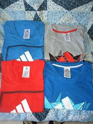 Lot De 4 T-Shirts Neuf Adidas Taille Xxl