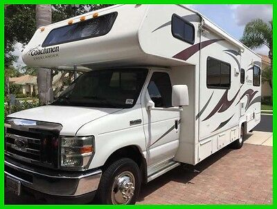 2010 Coachmen Freelander 2700RS 29' Class C RV V10 Gas 2 Slide Generator FLORIDA
