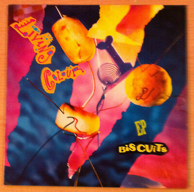 "LIVING COLOUR   "" Biscuits "" - Vinyl Ep 12""  - Epic ‎  EPC 468740 1 - 1991 Spain"