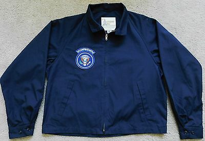 Authentic Presidential Seal Ronald Reagan Camp David Guest Jacket