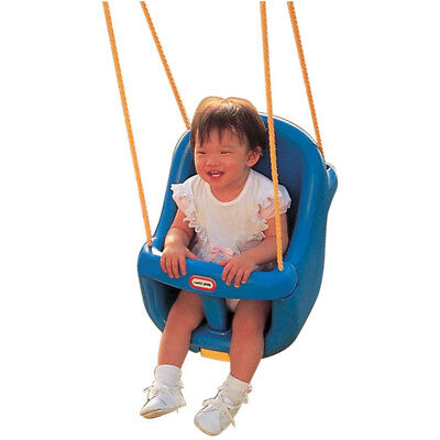 Little Tikes High Back Toddler Swing in BLUE