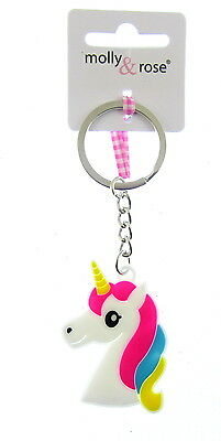 childs pony key chain unicorn  HEAD