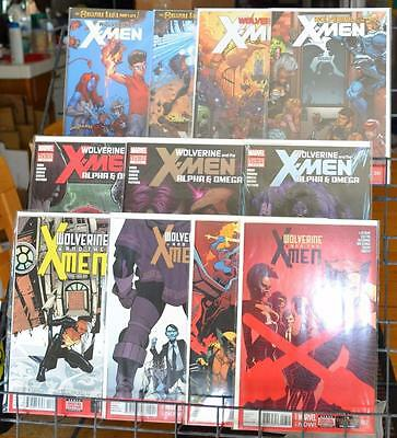 Wolverine and the X-Men 3 5-7 31 35 40 41 and Alpha Omega 2 4 5 lot