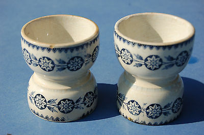 Pair De Coquetiers Ancien - 6 Cm -----//cs//
