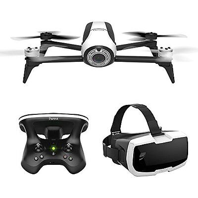 PARROT Bebop 2 FPV Drohne inkl. Skycontroller und FPV-Brille weiss   OVP