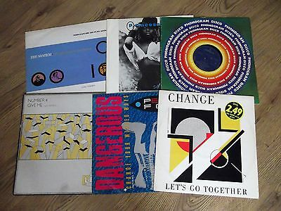 "6 X 12"" Records - Job Lot - Disco & Soul Collection"