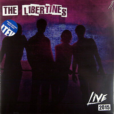The Libertines - Live 2015 (Limited Edition 2 x Blue Vinyl LP) New & Sealed