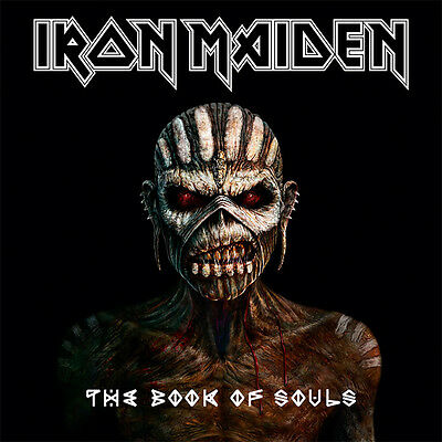 IRON MAIDEN The Book Of Souls 3LP vinyl box set new and SEALED
