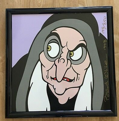 The Old Hag Limited Edition Art Tile #195/250 by Brenda White (Walt Disney,1993)