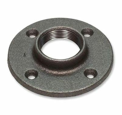 "1/4"" Black Pipe Malleable Floor Flange - Iron Pipe Fitting Npt"