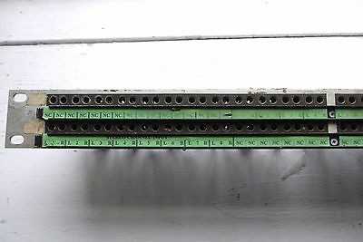 96-way TT Patch Bay - Mosses and Mitchel Studio Wiring 48 in 48 out Bantam