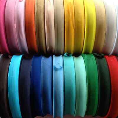 25Mm (1 Inch) Cotton Bias Binding Tape~Various Colours/Lengths~ Same Day Post~