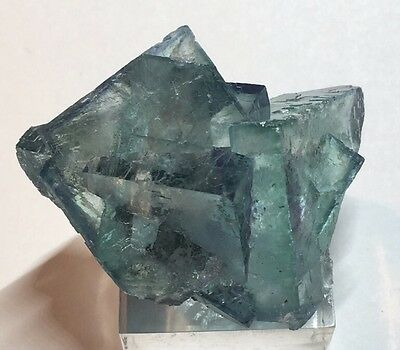 Transparent Green Fluorite Specimen Mined In Hunan China 50g