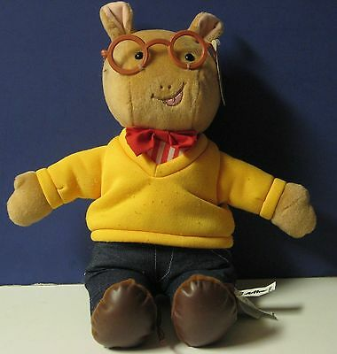 "Arthur 14"" Plush Ardvark PBS Kids Marc Brown Toy Connection 2000 With Tags"