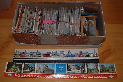 Weeda Huge collection of approx. 400-500 matchbook covers, worldwide in shoebox