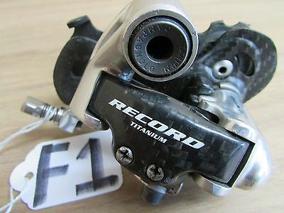 Campagnolo Record Carbon Titanium Short Cage 10 Speed  Rear Derailleur