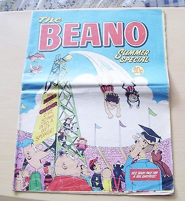Beano Summer Special 1977 Seventies Large Spreadsheet Comic Dandy