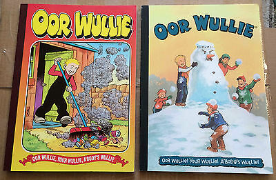 Oor Wullie Annual Books Bundle Collection 9 Books