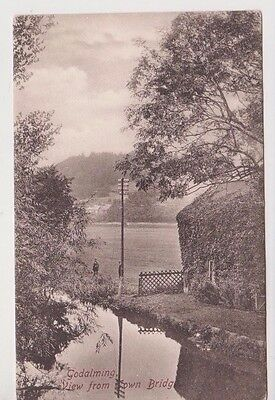 Town Bridge GODALMING Surrey Vintage postcard 1915
