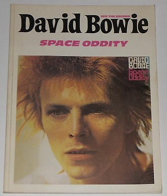David Bowie Space Oddity Off The Record 1992 Full Score Music Book 0863598153