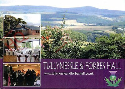 Postcard- Tullynessle & Forbes Hall, Aberdeenshire (Multiview)