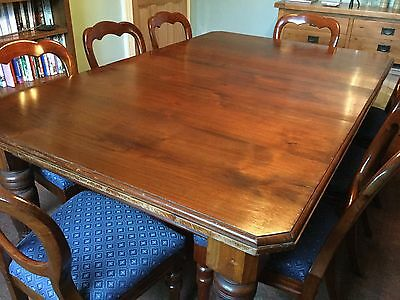 Victorian mahogany Wind Out Extending Dining Table