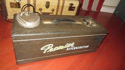 Vintage Circa 1959 Premier Model 90 Reverb Unit Brown Fully Serviced Ready To Go